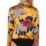 7 Fashion Road Body - Portefeuille - À Fleurs - Col Chemise Classique - Manches Longues - Femme de la marque 7 Fashion Road image 1 produit