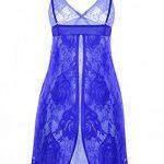 ADORNEVE Femme Nuisette robe de nuit Noel Babydoll Push-up Avec String Lingerie Dentelle de la marque ADORNEVE image 1 produit