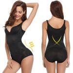 Aibrou Femme gaine amincissante body gainant ventre plat lingerie gainante Minceur Combinaisons sculptantes de la marque Aibrou image 2 produit