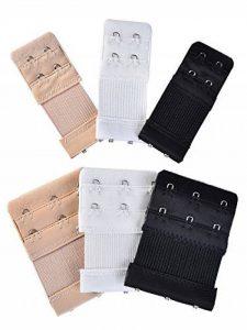 Attaches de Soutien-Gorge Extension de Soutiens-Gorge 2 Crochet/ 3 Crochet, 6 Pièces de la marque eBoot image 0 produit