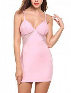 Avidlove Femme Pyjama Bretelle Lingerie Sexy Nuisette Babydoll pour Saint Valentin de la marque Avidlove image 0 produit