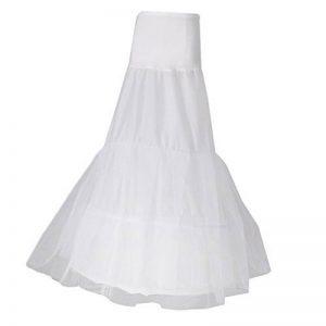 Baoblaze Jupon Crinoline en Nylon Petticoat Blanc Femme Accessoire Vêtement Mariage Fille de la marque Baoblaze image 0 produit
