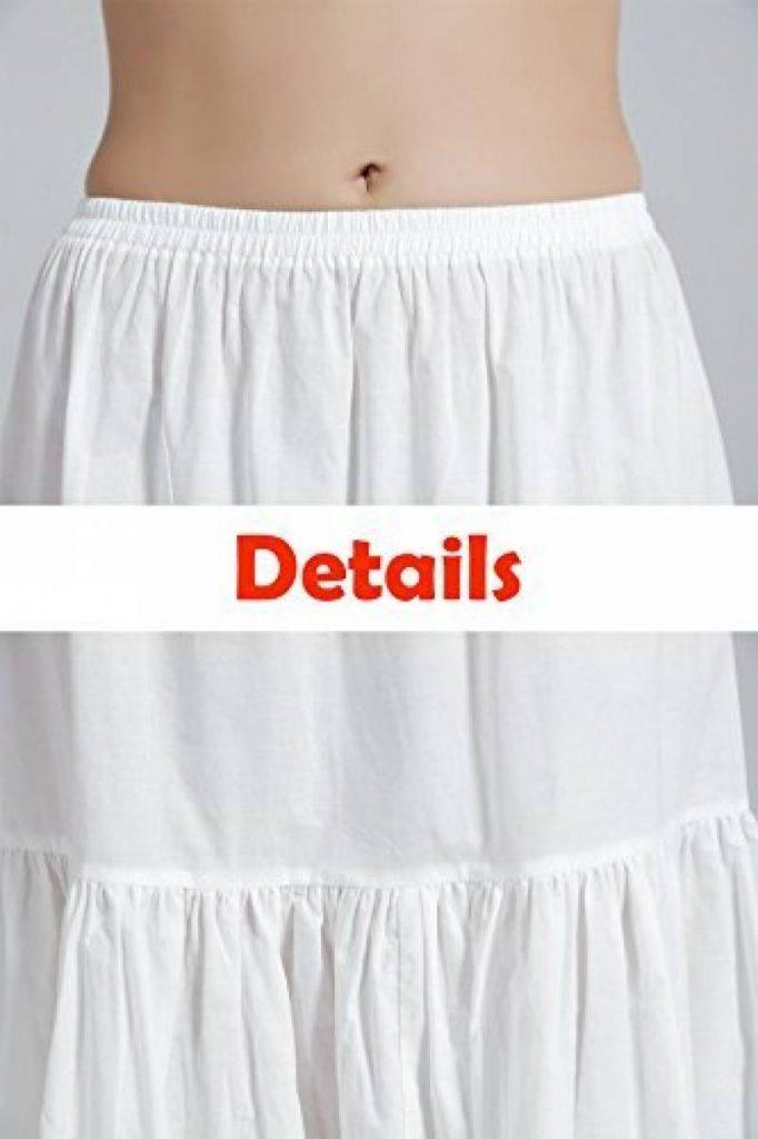 Notre meilleur comparatif   Jupon court blanc coton pour 2019   Top ... ee576a7d3d56