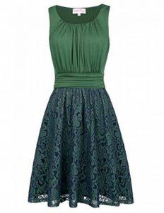Belle Poque Années 50 rockabilly rétro robe vintage une ligne au genou robes en dentelle de la marque Belle Poque image 0 produit