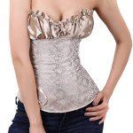 Binhee Femme Sexy Bustier Taille Sérrée Fleur De Noix De Cajou Waist Training Corset de la marque Binhee image 2 produit