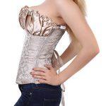Binhee Femme Sexy Bustier Taille Sérrée Fleur De Noix De Cajou Waist Training Corset de la marque Binhee image 3 produit