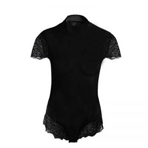 body coton noir femme TOP 11 image 0 produit