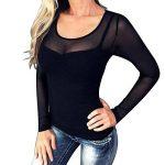 body manche femme TOP 2 image 2 produit