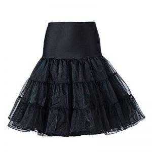 "BOOLAVARD 1950 26"" Rockabilly Jupon Jupon Retro Vintage Petticoat Tutu Swing Rouge, Noir, Blanc, Bleu, Rose de la marque Boolavard image 0 produit"