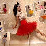 "BOOLAVARD 1950 26"" Rockabilly Jupon Jupon Retro Vintage Petticoat Tutu Swing Rouge, Noir, Blanc, Bleu, Rose de la marque Boolavard image 1 produit"