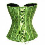 BSLINGERIE® Femme Sexy Floral Garniture Overbust Corset avec Thong de la marque Bslingerie image 1 produit
