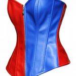 BSLINGERIE® femmes simili cuir bustier corset haut de la marque Bslingerie image 1 produit