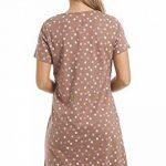 Camille Chemises de nuit d'été en coton doux et multicolore de la marque Camille image 1 produit