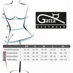 Camisole Gatta Body String–élégant Body avec bretelles Spaghetti très décolleté. Grand Confort sans coutures latérales de la marque Gatta image 2 produit