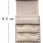 Chanie Femme Lot de 3 Doux Confortables Extensions de soutien-gorge 2 Crochets, 9,2cm x 3,8cm de la marque Chanie image 4 produit