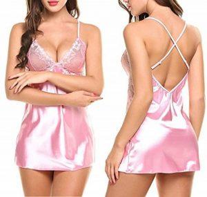 chemise de nuit avec dentelle TOP 11 image 0 produit