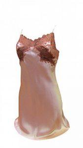 COMBINETTE marque MARJOLAINE 100% SOIE modèle RARE couleur BLUSH / ARGILE de la marque MARJOLAINE image 0 produit