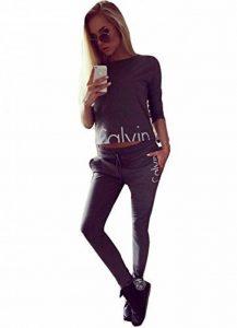 cooshional Femme Ensemble Sweat-Shirt Pantalon Jogging Survêtement 2pcs imprimé sportwear de la marque cooshional image 0 produit
