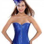 corset bustier mariage pas cher burlesque sexy femme grande taille et G-string de la marque AIZEN image 1 produit