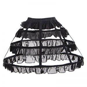 Cosplayitem Femmes Filles Jupon Lolita Petticoat Crinoline 3 Cerceaux de la marque Cosplayitem image 0 produit