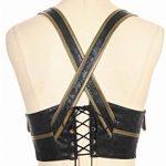 DEVIL SHACKLES gothique PU ceinture en cuir Steampunk Slim Gitting Girdle Gilet pour les femmes, 5 tailles de la marque DEVIL SHACKLES image 4 produit