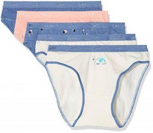 Dim - Les Pockets Coton - Slip - Lot de 5 - Femme de la marque Dim image 0 produit