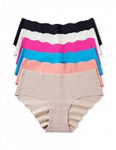 Dobreva Femme Pack de 6 Culotte Sans Couture Taille Basse Invisible Panty de la marque Dobreva image 0 produit