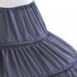 Dressystar Boule, jupon de mariée maxi, pour la robe longueur ras du sol,6 cerveaux,en Polyester de la marque Dressystar image 3 produit