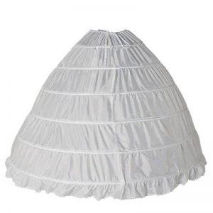 Dressystar Boule, jupon de mariée maxi, pour la robe longueur ras du sol,6 cerveaux,en Polyester de la marque Dressystar image 0 produit