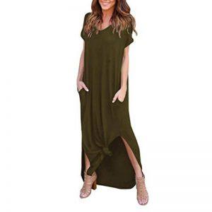 Familizo Robe à Manches Courtes, Femmes Robe de Plage D'été de la marque Familizo image 0 produit