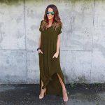 Familizo Robe à Manches Courtes, Femmes Robe de Plage D'été de la marque Familizo image 1 produit