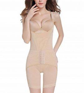 Femme Charmant Dentelle Shapewear Bodysuit Ultra-thin Respirant Post-partum Minceur Bodysuit Body Gainant de la marque MISSMAO image 0 produit