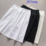 Femme Jupon Lingerie Sous-Jupe Robe Coton Blanc Noir Ivoire Court Mi-long Pour Marige Fille de la marque BEAUTELICATE image 4 produit