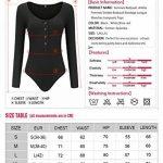 Femmes Bodysuit, Amilia Femmes Solides Bodysuit Bandage Longue Manches Jumpsuits Tops de la marque Amilia image 1 produit