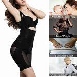 Gaine Amincissante Dentelle Shapewear Ventre Plat Body Minceur Bodysuit Ultra-thin Respirant avec Zip Ecru Noir Violet M-5XL ALICECOCO de la marque ALICECOCO image 4 produit