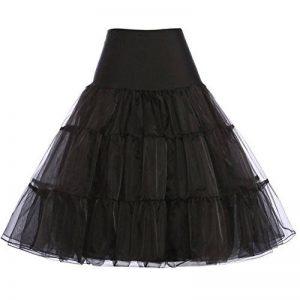 GRACE KARIN Jupon Femme Sous Robe/Jupe en Tulle Taille Haute (11Couleurs) de la marque GRACE KARIN image 0 produit