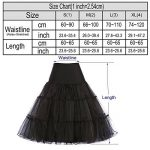 GRACE KARIN Jupon Femme Sous Robe/Jupe en Tulle Taille Haute (11Couleurs) de la marque GRACE KARIN image 1 produit