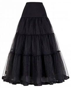 GRACE KARIN Jupon Femme Sous Robe Longue à Cheville Petticoat en Tulle Longueur 100cm (6 Couleurs) de la marque GRACE KARIN image 0 produit