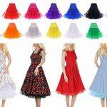"""Jupon années 50 vintage en tulle raffiné Rockabilly Petticoat longueur 66cm/26"""" Robe Tutu de la marque Lidory image 3 produit"""