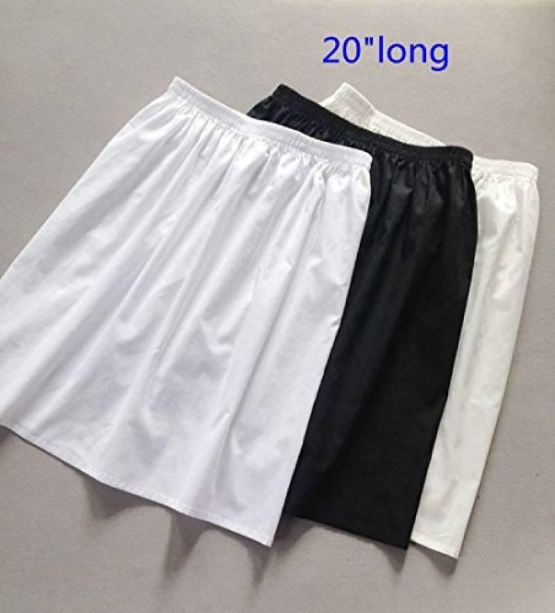 Jupon blanc long   faire une affaire pour 2019   Top Lingerie Femme 818f1efe682d