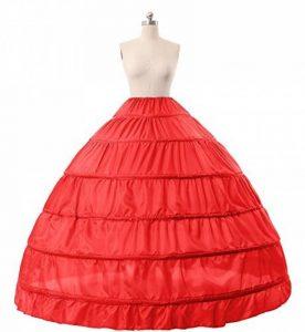Jupon Crinoline Mariage de Femme Long Vintage de Mariée 6 Cerveaux Plus Couleurs de la marque BEAUTELICATE image 0 produit