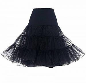 jupon noir sous jupe TOP 2 image 0 produit