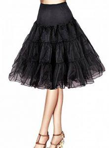 jupon noir sous jupe TOP 9 image 0 produit