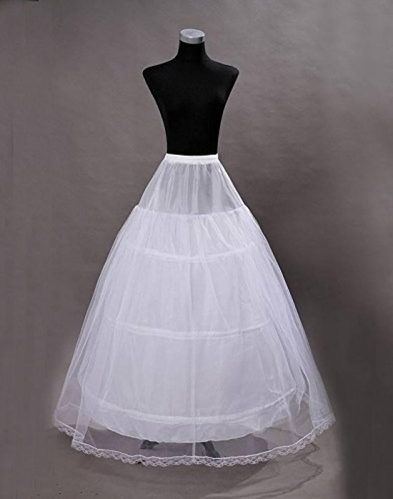 Edith qi Jupon de Robe de cérémonie pour Femmes Crinoline Petticoat,Jupons  3 4 6 anneau pour la robe de mariée de mariage,Jupon de jupon réglable  Crinoline ... 376a04f97ae9