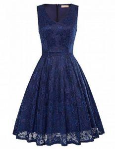 Kate Kasin Robes en dentelle pour femmes sans manches au genou Rockabilly Vintage Dress KK850 de la marque Kate Kasin image 0 produit