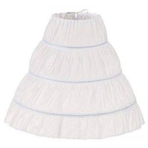 kivie filles 3 cerceau Jupon mariage robe de princesse Crinoline jupons de robe de soirée de la marque kivie image 0 produit