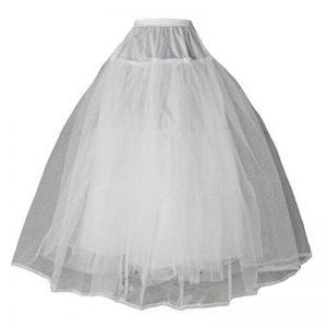 kivie Jupons crinoline mariage jupon crinoline mariée robe de bal 3 couches sans cerceau crinoline de la marque kivie image 0 produit