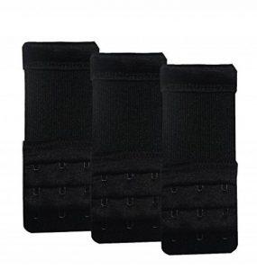 KOOYOL Bretelles de soutien-gorge élastique Lingerie prolongateurs 3crochets/ 2crochets Extension 3pcs de la marque KOOYOL image 0 produit