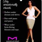 Maidenform - Body/Panty Gainant sous Poitrine - Amincissant - Uni - Femme de la marque Maidenform image 3 produit