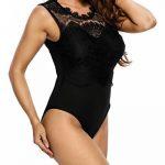 MAX MALL Femmes Dentelle Bodys Tops Combinaison Dos Nu Bodysuit Jumpsuit de la marque Max mall image 3 produit